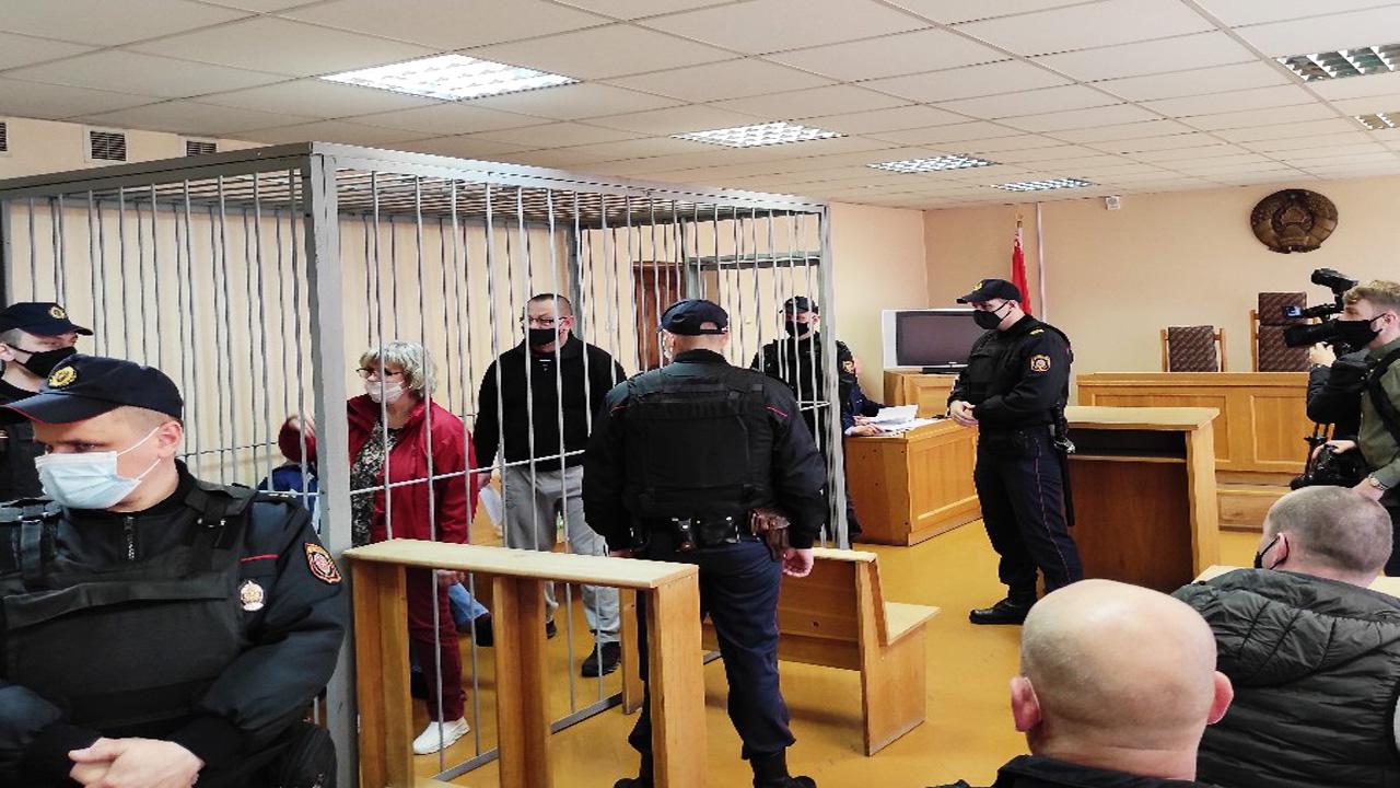 В Гомеле начался суд над активистами по делу о «захвате власти»