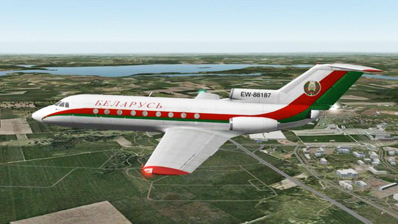 Телеканал ОНТ заявил о планах заговорщиков спровоцировать крушение самолета Лукашенко.