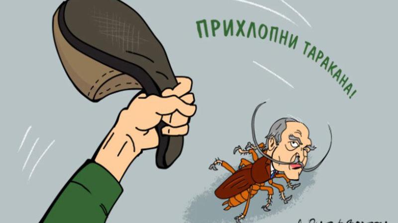 Узурпатор чувствует себя в Беларуси не в своей тарелке.