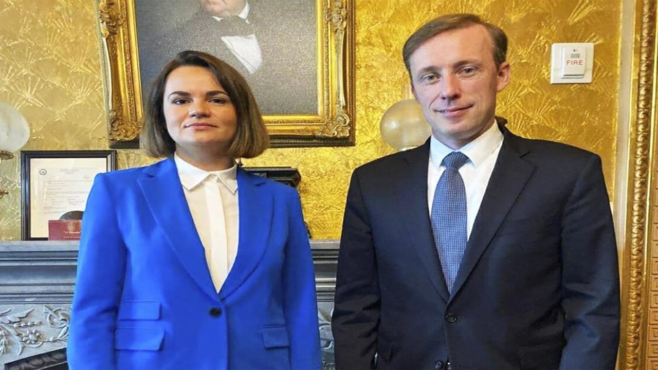 Тихановская на переговорах с советником Байдена призвала не вести никакого сотрудничества с режимом